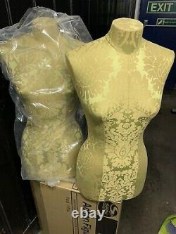 2 New Tailors Dummy Dressmakers Mannequin Female Torso