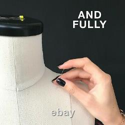 ANASTASIA // Soft dress form Soft mannequin for sewing Pinnable tailor dummy
