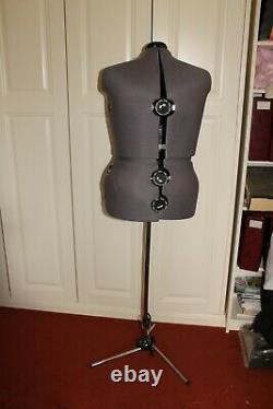 Adjustable large female Tailors Dummy, ladies dressmaking mannequin on stand
