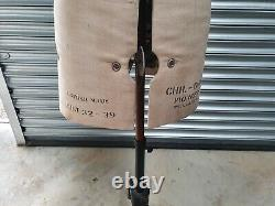 Adjustable tailors dummy, Vintage, size 32-39, linen and wrought iron
