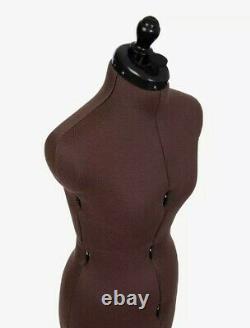 Adjustoform Olivia Dressmaking Mannequin, Female, Small, Tailor Dummy, Brown