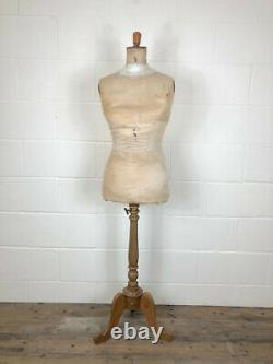 Antique British Victorian Tailors Dummy or Mannequin(M-C256) FREE DELIVERY