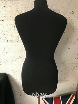 Antique Vintage Clothes Display Mannequin Shop Dummy Dressmakers Tailors