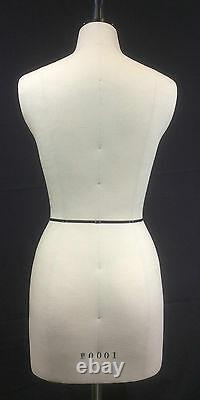 Design-Surgery Mannequin, Florence, Tailors Dummy, Draping Body Stand, Size 8