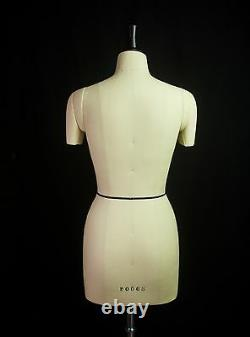 Design-Surgery Mannequin Wendy, DS-108-DTA Tailors Dummy, Draping Stand, Size 8