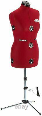 Diana Adjustable Tailors Dress Makers Mannequin Dummy Dress Form -NEW
