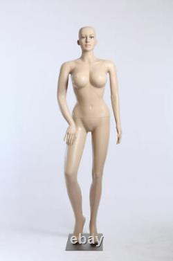 Female Mannequin SF-24 Large Breasts 96cm 2 Wigs Free Skin Colour