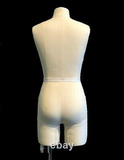 Half Scale Mini Mannequin Dress Form'Ida' FCE Tailors Dummy Draping Stand