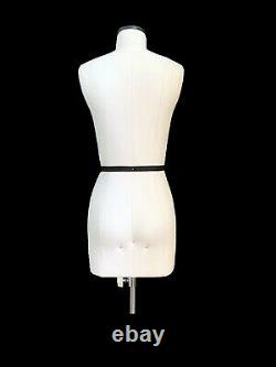 Half Scale Mini Mannequin Dress Form Lana FCE Tailors Dummy Draping Stand