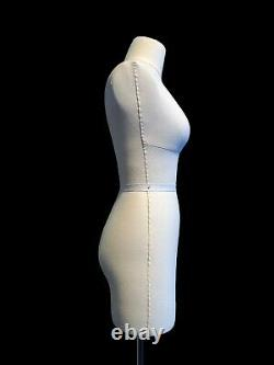 Half Scale Mini Mannequin Dress Form Nora FCE Tailors Dummy Draping Stand