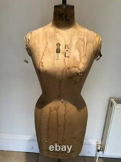 KENNETT & LINDSELL Tailor's Dummy Women's Form with stand Model C Size 10