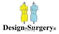 Mini Mannequin Dress Form'Gordon' FCE Tailors Dummy Draping Stand Half Scale