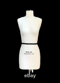 Mini Mannequin Dress Form Lana FCE Tailors Dummy Draping Stand Half Scale
