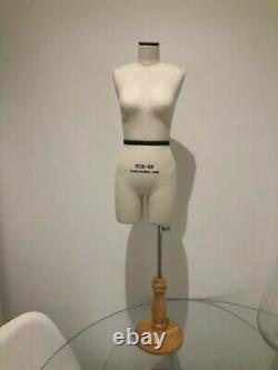 Mini-Mannequin Half-Scale Tailors Dummy FCE London female with legs for student