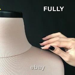 NINA // Soft dress form Perfect for lingerie Soft tailor dummy Mannequin
