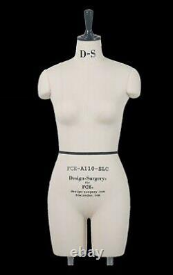 Professional Mannequin Tailors Dummy Draping Stand Size 10 KARLA FCE B-GRADE