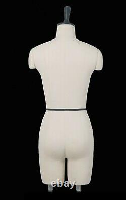 Professional Mannequin Tailors Dummy Draping Stand Size 8 OLIVIA FCE B-GRADE
