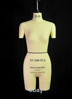 Professional Mannequin Tailors Dummy Female Size 8 with Legs Design-Surgery