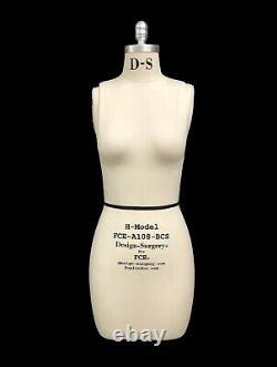 Professional Mannequin Tailors Dummy'Rita' Size 8-H Model Female FCE