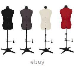 Sew Simple 8 Part Female Adjustable Dress Form, Tailors Dummy Size 6-22