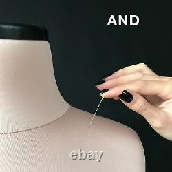 VERA // Professional anatomic sewing mannequin Soft dress form Tailor dummy