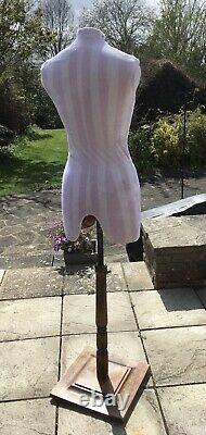 Vintage Dress Makers Tailor's Dummy Mannequin French Brocante Decorative Salvage
