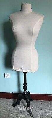 Vintage Tailors Dummy Female Dressmakers Shop Display Mannequin Clothes Stand