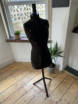Des Couturières Françaises Victoriennes Anciennes Tailors Dummy Mannequin