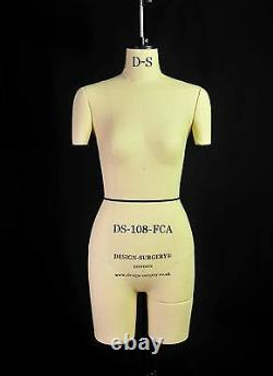 Design-surgery Mannequin Lauren Ds-108-fca Tailors Mannequin, Draping Stand
