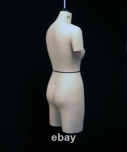 Design-surgery Mannequin Penelope Ds-110-fca Size10 Tailors Dummy Draping Stand