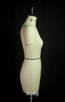 Design-surgery Mannequin Wendy, Ds-108-dta Tailors Dummy, Draping Stand, Taille 8