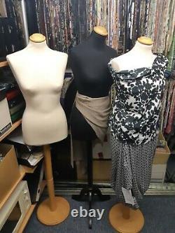 Ensemble De 3 Tailleurs Dummy Bust Femmes Couturières Couture Mannequin Display