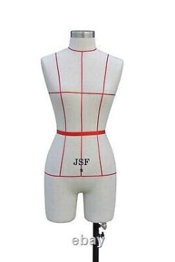 Fashion Mannequin Tailor Dummies Idéal Pour Les Professionnels Dressmakers 8 /10 & 12