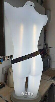 Femelle Mannequin Lampe Illuminée Boutique Affichage Dummy En Plastique Light Tailors Form