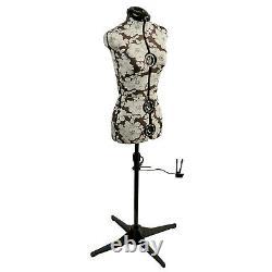 Hollyhock Grey 8-part Ajustable Tailors Dummy Petite 6-10