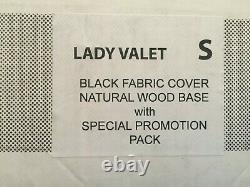 Lady Valet Ajustoform Tailor Dummy Taille Petite, Avec Accessoires Tissu Noir