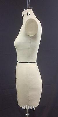 Mannequin Design-chirurgie, Florence, Tailleurs Factice, Draping Body Stand, Taille 8