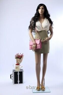 Mannequin Femelle Sf-24 Gros Seins 96cm 2 Perruques Couleur De La Peau Libre