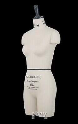 Mannequin Professionnel Tailleurs Mannequin Draping Stand Taille S10 Amelia Fce B-grade