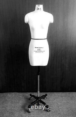 Mannequin Professionnel Tailors Dummy Taille 8-h Modèle Femelle Fce B-grade