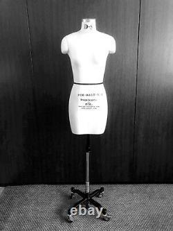 Mannequin Professionnel Tailors Dummy Taille S10 Femme Fce B-grade