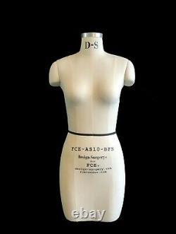 Mannequin Professionnel Tailors Dummy Taille S10-bfs Femelle Fce B-grade