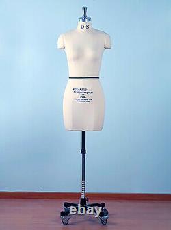 Mannequin Professionnel Tailors Dummy'audrey' Size S10 Female Fce B-grade