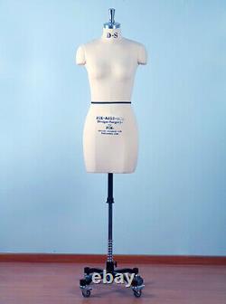Mannequin Professionnel Tailors Dummy'greta' Size S10 Female Fce B-grade