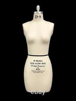 Mannequin Professionnel Tailors Dummy'rita' Taille 8-h Modèle Femme Fce