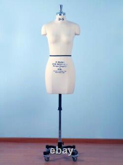 Mannequin Professionnel Tailors Dummy'valerie' Size S10-h Female Fce B-grade