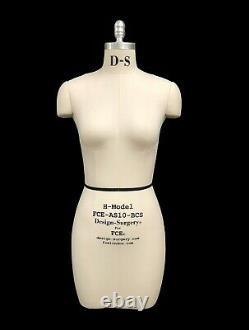 Mannequin Professionnel Tailors Dummy'valerie' Taille S10-h Femme Fce