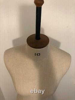 Marque Nouveau Morplan Femmes Dressmakers Tailor Dummy Taille 10 Mannequin Mode