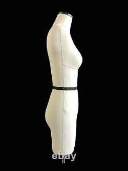 Mini Mannequin Robe Forme'ilina' Fce Tailors Drapage Dummy Stand Demi-échelle