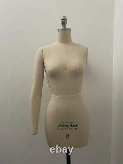 Stand Professionnel Atilier Femme Tailors Dummy Avec Épaule Collapsible Sz8